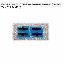 2PCS For Nokia 6 2017 Speaker Mesh Dustproof Grill For Nokia6 2017 TA-1000 TA-1003 TA-1033 TA-1039 TA-1021 TA-1025