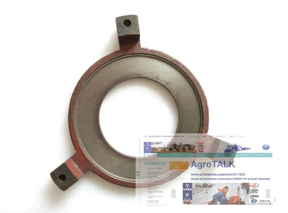 JINMA tractor 184-284, the pressure plate of clutch (dual stage clutch), part number: 184.21S.116