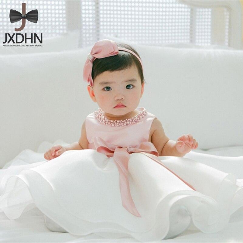 Infant Girl Baptism Party Dress Newborn Girls Princess Dresses 1 Year Birthday Gift Baby Kids Dress Girl Clothes Child Clothing