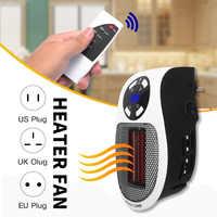 220V 500W Tragbare Elektrische Heizung Mini Heizlüfter Desktop Haushalt Wand Handliche Heizung Herd Kühler Wärmer Maschine für winter