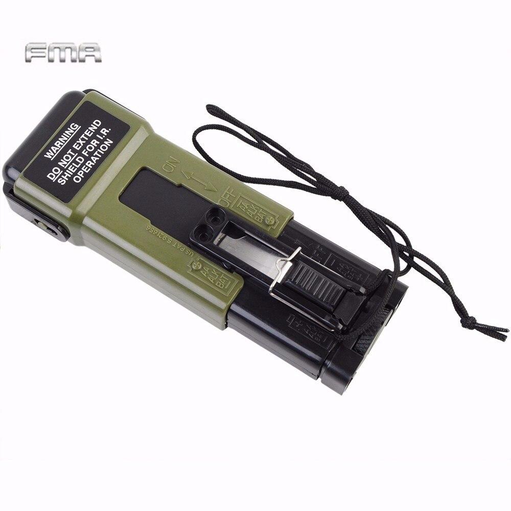 Prix pour FMA Tactique Militaire Lumière Stroboscopique Sport Portable Casque Lumière Stroboscopique MS2000 Casque de Sécurité Strobe Light (Factice)