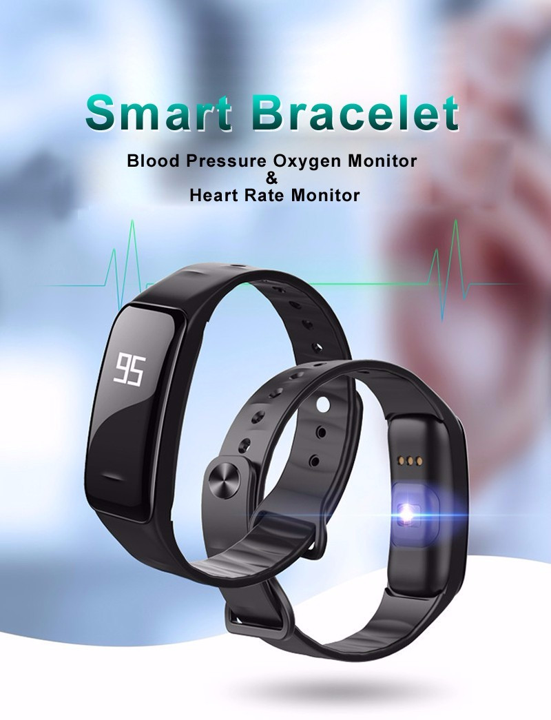 Z-suit Health Sport Wristband Oxygen Blood Pressure Heart Rate monitor Smart Bracelet Fitness Tracker Smart Band for IOS Android 1
