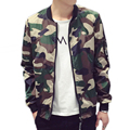 DREAK Men's Spring and Autumn thin section camouflage jacket black bomber jacket big size men clothing college jacket boys