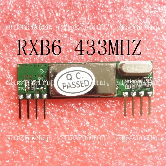 RXB6 433 mhz Đổi Tần Thu Không Dây Mô-đun 1 cái Miễn Phí Vận Chuyển