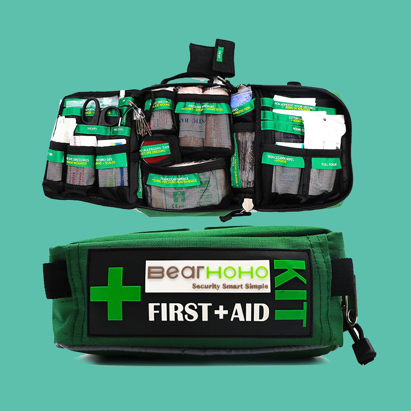 Outdoors Car Luggage School Hiking Survival Kits First Aid Kit Bag 165-Piece Emergency Medical Rescue Workplace цена