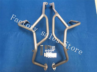For BMW F800GS F700GS F650GS Silver 2008 2013 Crash Protection Bars Engine Guard Protective Frame F