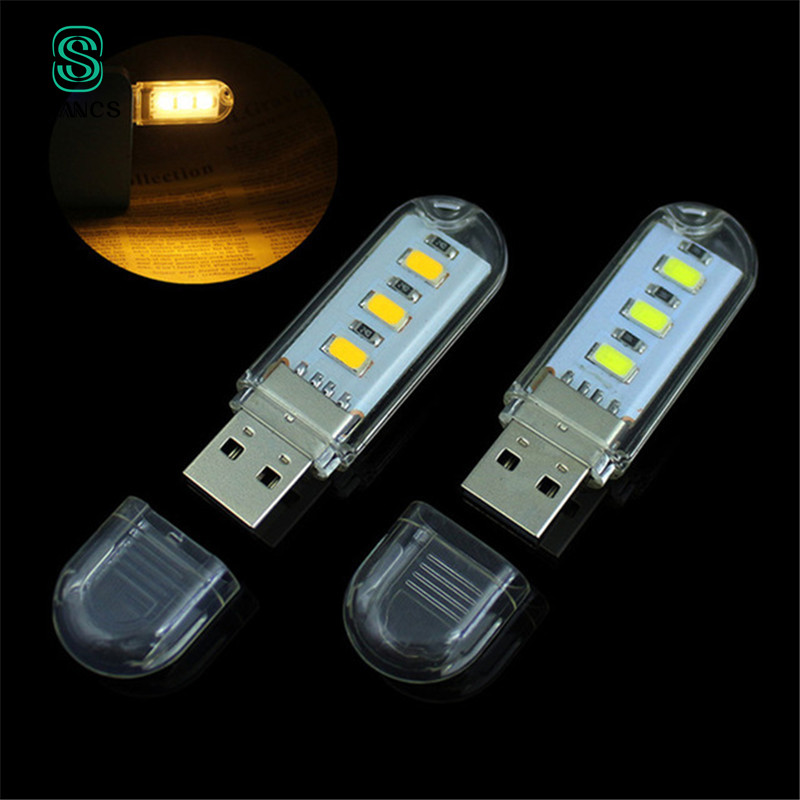 Mini USB Led Light For Xiaomi Powerbank Night Light lamp keyboard light