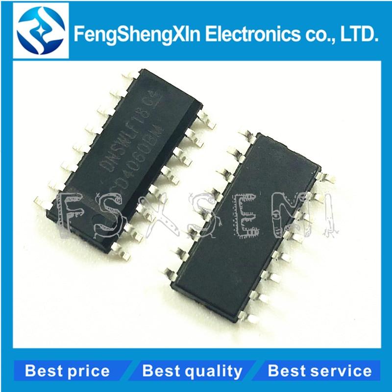 10pcs/lot CD4060BM CD4060 SOP-16 HEF4060BT Binary counter logic circuit