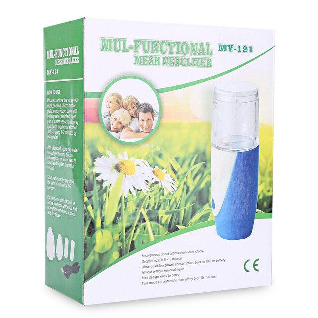 Rechargeable Atomizer Inhaler Nebulizer Humidifier Beauty Instrument Aromatherapy Rhinitis Skin Replenishment Facial Steamer