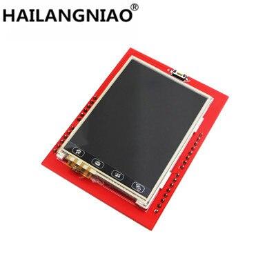 new! 5pcs/lot 2.4 inch TFT touch LCD Module LCD Screen Module For UNO R3 Board and support mega 2560 sim900 arduino quadband gsm gprs shield wireless extension board module mega 2560 r3 atmega2560 16au