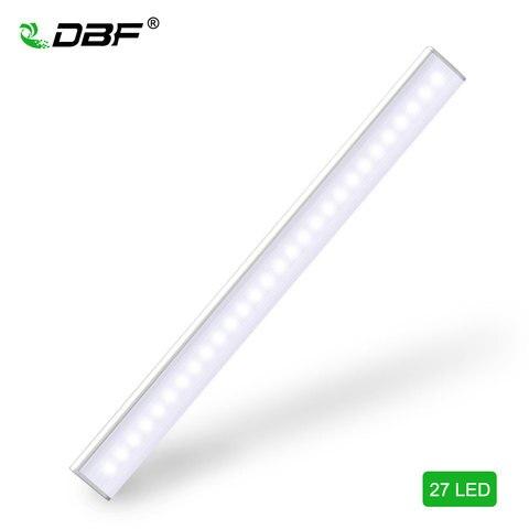 dbf 27 led sem fio pir corpo sensor de movimento ativado parede luz noturna