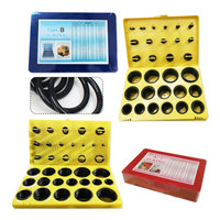 General Plumbers Mechanics Workshop Assorted O Ring Rubber Seal Assortment Set Kit Garage Plumbing With Case