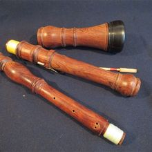 1 шт. в стиле барокко копия розового дерева oboe A-415HZ, хороший звук#12090