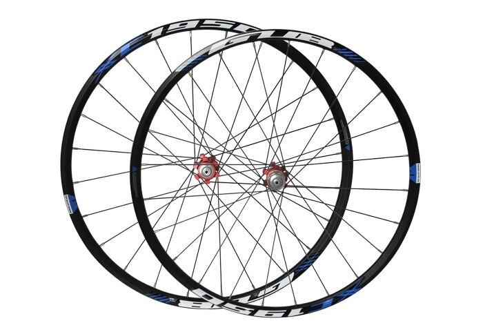 26 ''27.5 pouces 24 trous vtt vtt vélos de route frein à disque moyeux jante couteau cercle roues pièces