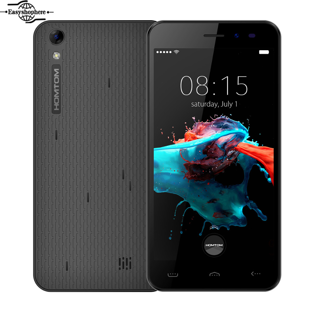 5 0 Inch Homtom HT16 Smartphone 1GB RAM 8GB ROM Android 6 0 Quad Core Mobile