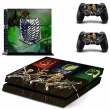 Attack on Titan Skin Sticker for Sony Playstation 4