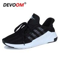 DEVOOM Man Skate Shoes 2017 Summer Unisex Shoes Men Breathable Mesh Casual Footwear Mens Comfort Walking