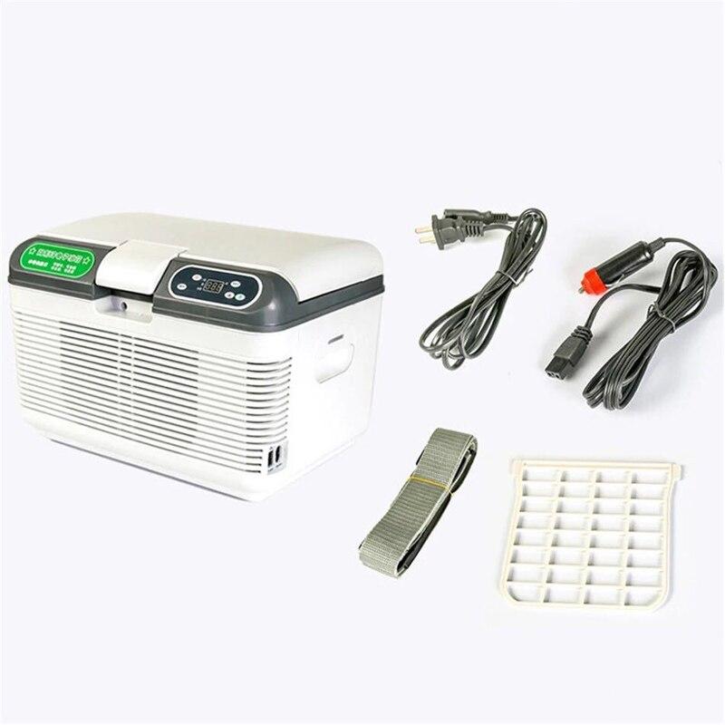 12V/24V Car Refrigerator Freeze Portable Compressor 12L for Car Home Refrigeration heating 20 Degrees Auto Cooler Freezer