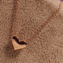 Luck Dog Fashion Women Gold Heart Bib Statement Chain Pendant Necklace Jewelry