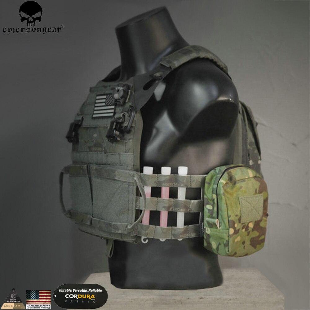 Emersongear molle rescue pouch purpose despejo militar saco de caça airsoft tático cintura molle mochila em9332