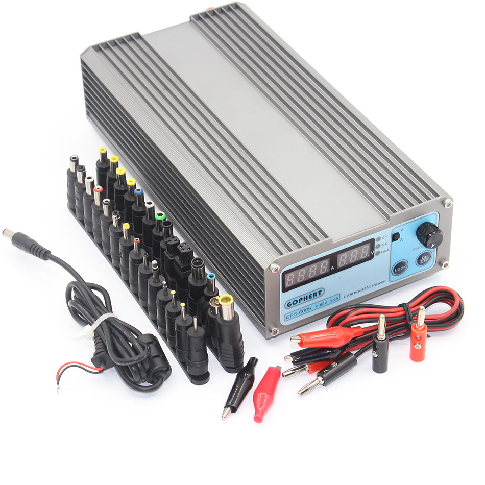 CPS-6005 Mini Digital Adjustable Switching DC Power Supply OVP/OCP/OTP low power 60V 5A 6005 1 pc cps 3220 precision compact digital adjustable dc power supply ovp ocp otp low power 32v20a 220v 0 01v 0 01a