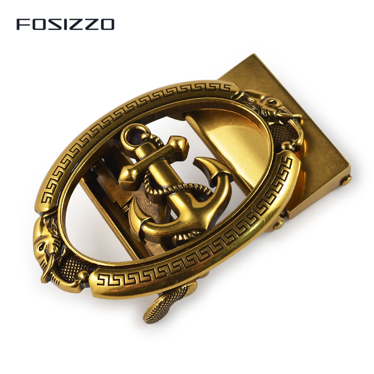 FOSIZZO New Fashion Men's Buckle Zinc Alloy Automatic Buckle 3.6CM #0430
