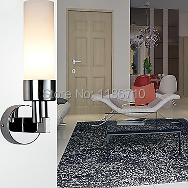 New style wall lamp metal plating high-end  bedroom wall lamp contains LED bulbs Free shipping