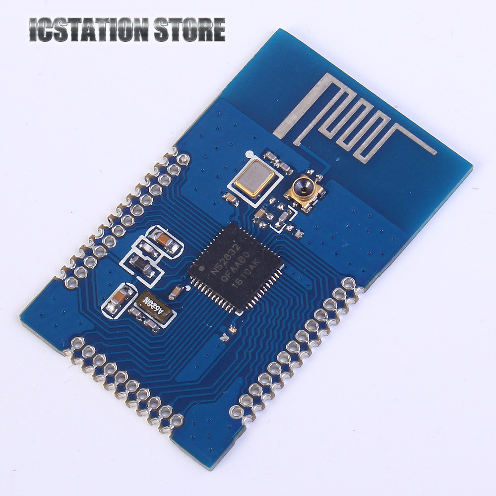 nRF52832 Bluetooth 4.1 BLE Module M4 Transparent Transmission SMA 512K FLASH 64K RAM pass-through Wireless Module nrf52832 bluetooth module m4 core bluetooth 4 1ble module signal strong support for transmission