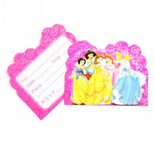 princess Theme Cartoon Party Set Tableware Plate Napkins Banner Birthday Candy Box child Shower Party Decoration(China)