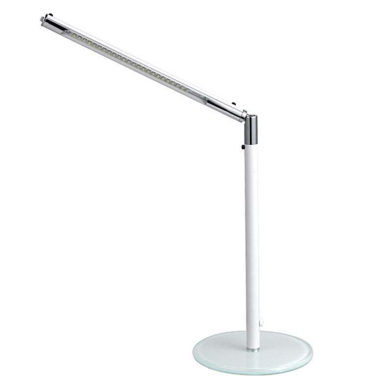 Foldable 3-Level Dimmer LED Desk Lamp Sensitive Touch Switch Office Night Stand Office Reading White Light(US Standard Adaptor) 24 led music stand light 2 level change easy to carry foldable fl 9032