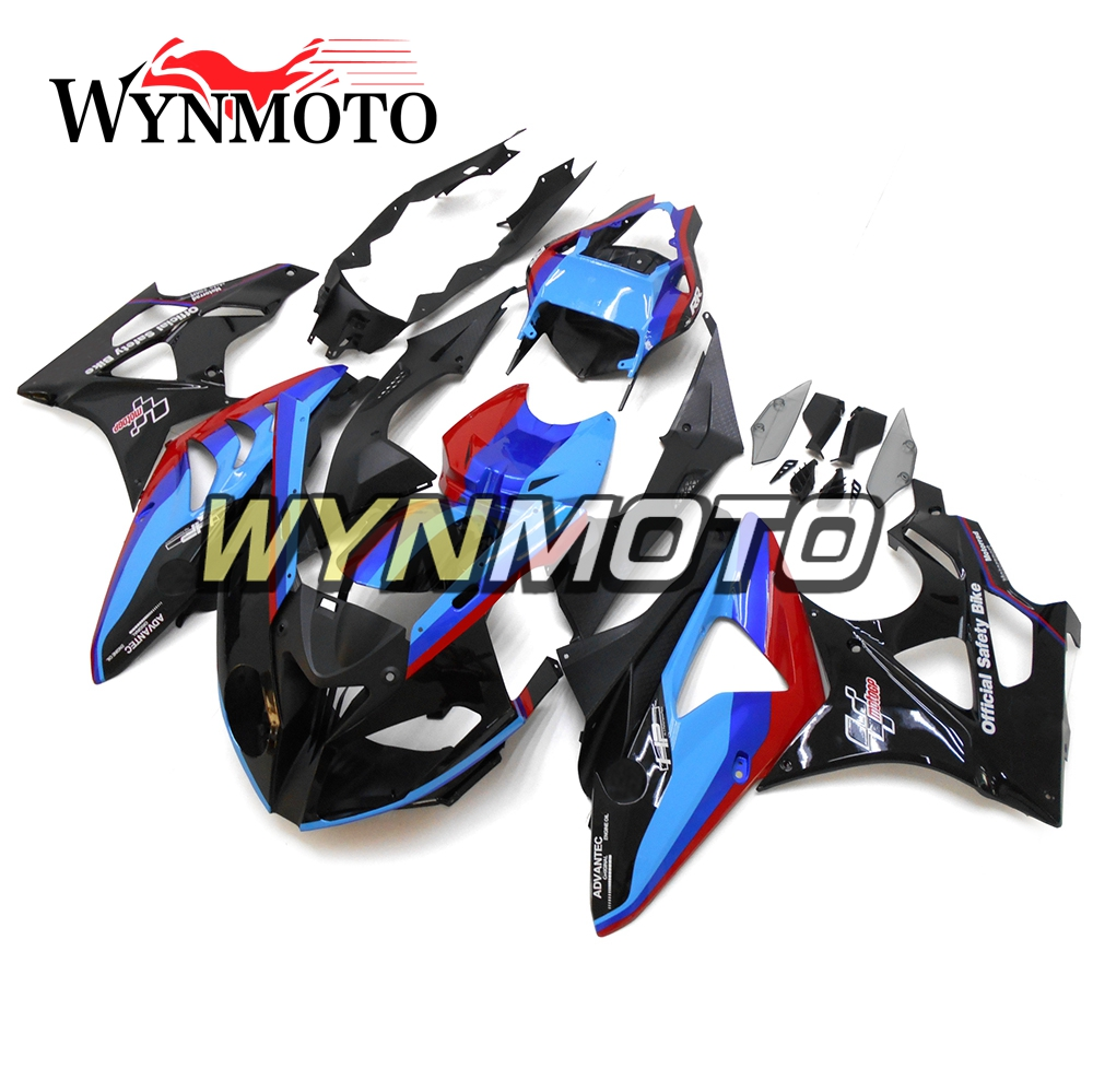 Complete ABS Injection Plastics Fairings For BMW S1000RR 2011 - 2014 11 12 13 14 Motorcycle Fairing Kit Bodywork Red Black Blue image