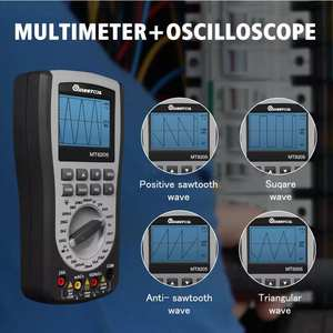 Oscilloscope Multimeter Frequency-Diode-Tester Current Digital Voltage-Resistance Handheld