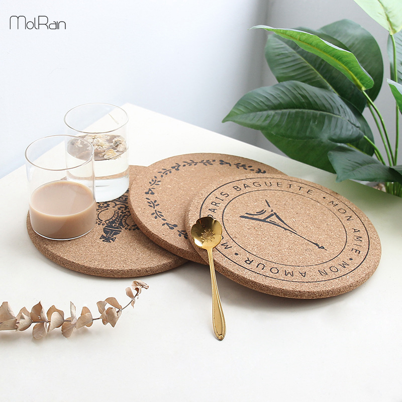 Round Silicone Placemat Table Mat Pad Insulation Dining Kitchen Coaster Pot Pad