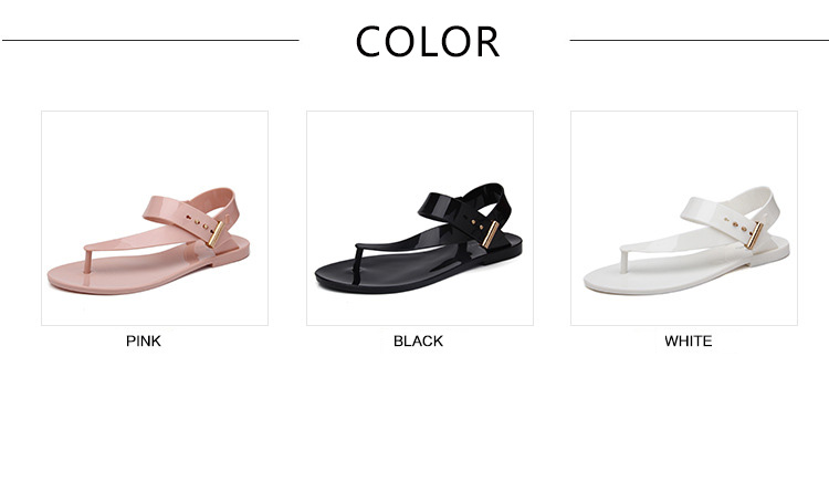 Free Shipping Women Sandals 2016 Summer Bohemia Flat Women Shoes New Fashion Beach Sandals Solid Casual Shoes ST1009 (2)