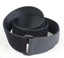 1pc 5cm*0.5M or 5cm*1M black magic tape with buckle Hook and Loop cable ties Fastener for Baggage wrap strap