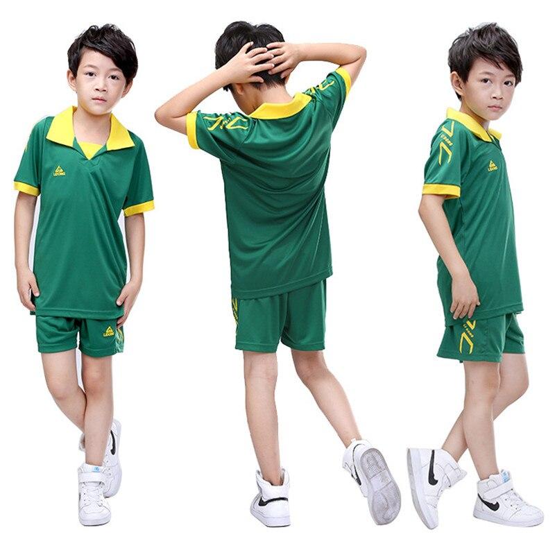 Los niños camisetas de fútbol conjuntos juventud Niño Survetement fútbol  Kits deportes Futbol entrenamiento trajes maillot de foot  1 b2aff5ce81839