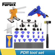 PDR Tools car dent repair tool dent remove for hail damage paintless dent lifter hammer glue gun tabs suction cups hand tools whdz pdr tools paintless dent repair tools car hail damage repair tool hot melt glue sticks glue gun puller tabs kit