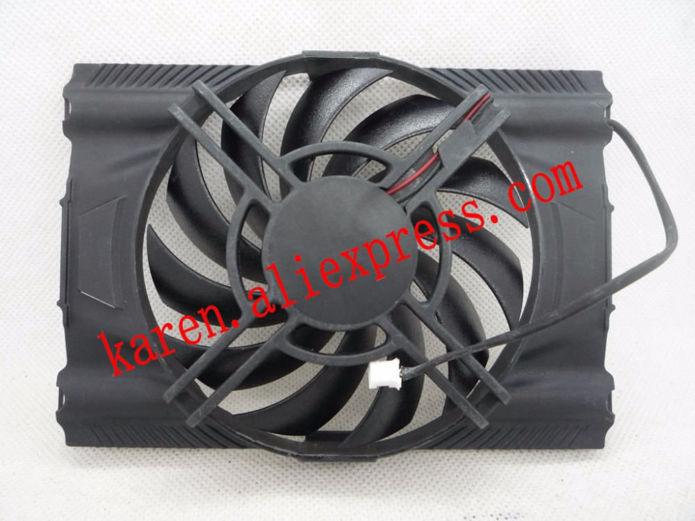 Original for GeForce GTX 650 [N650-1GD5 / OCV1] Graphics card Cooler system cooling fan HZDO 4pin mgt8012yr w20 graphics card fan vga cooler for xfx gts250 gs 250x ydf5 gts260 video card cooling