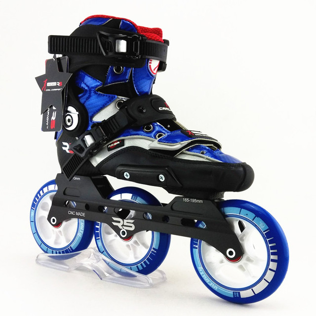 Patin roulettes en ligne r5 rs patins roulettes chaussures roulettes roues align es - Patin antiderapant chaussure ...