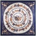 2016 шелк с новый цвет H большая королевская осанка туристической карты моделирование полотенце шарф