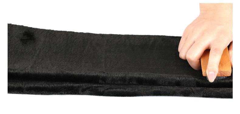 Bohocotol elastic plus velvet women's autumn and winter high waist skin color incarcerators legging trousers thickening step one 23