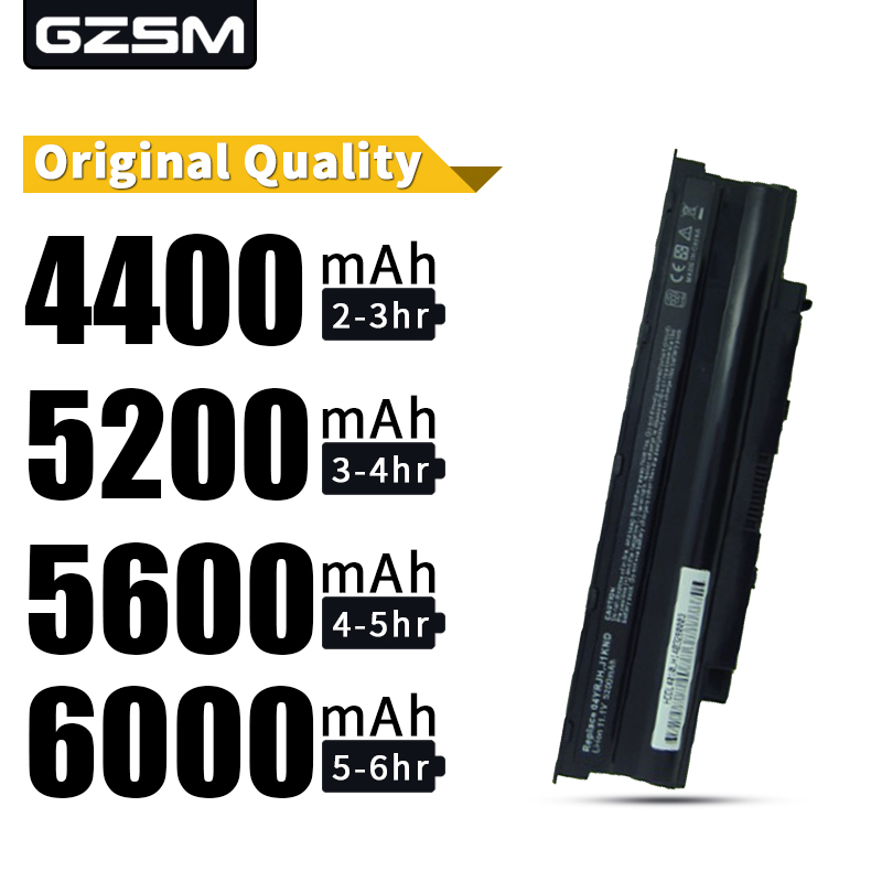 HSW Laptop Battery For Dell FOR Inspiron 13R 14R 15R 17R M501 M5010 N3010 N4010 N5010 N5030 N7010 451-11510 J1KND WT2P4 Battery