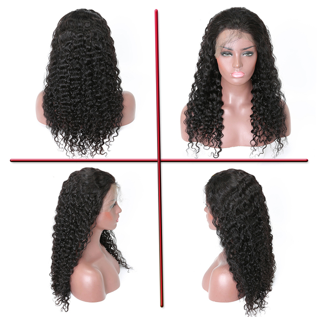 13×4 Lace Frontal Wig Remy Hair Brazilian Water Wave Lace Front Wig Human Hair wig