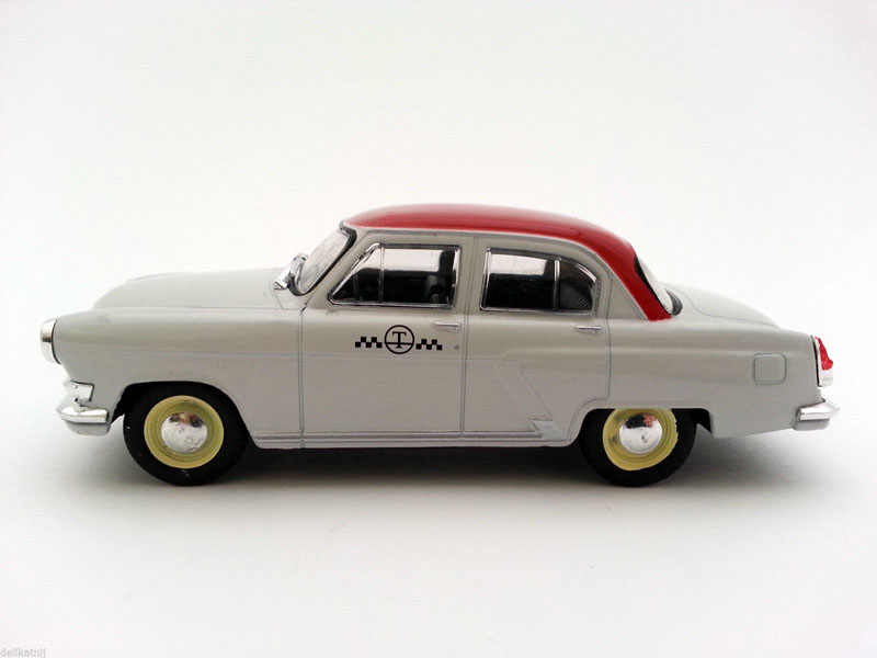 1/43 Soviet Russia GA -21 VOLGA Alloy Taxi Model Collection Die Cast Car Toys