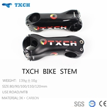 Newest Txch Full Carbon Stem Bicycle Parts UD Matte Cycling Stem Free Shipping