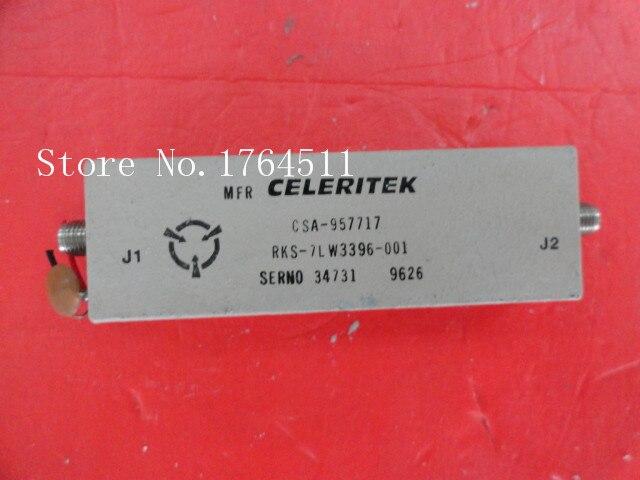 [BELLA] CELERITEK CSA-957717 5- (>20GHz) G:42dB 15V SMA Amplifier