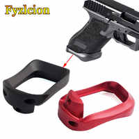 Hunting Caza Dropshipping Glock Grip Adapter Magwell Mag-well Glock For 17 22 24 31 34 35 37 Gen 1-4 Base Pad