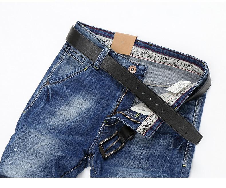 KSTUN Men Shorts Jeans Summer Casual Slim Fit Stretch Blue Jeans Short 2019 Fashion Quality Brand