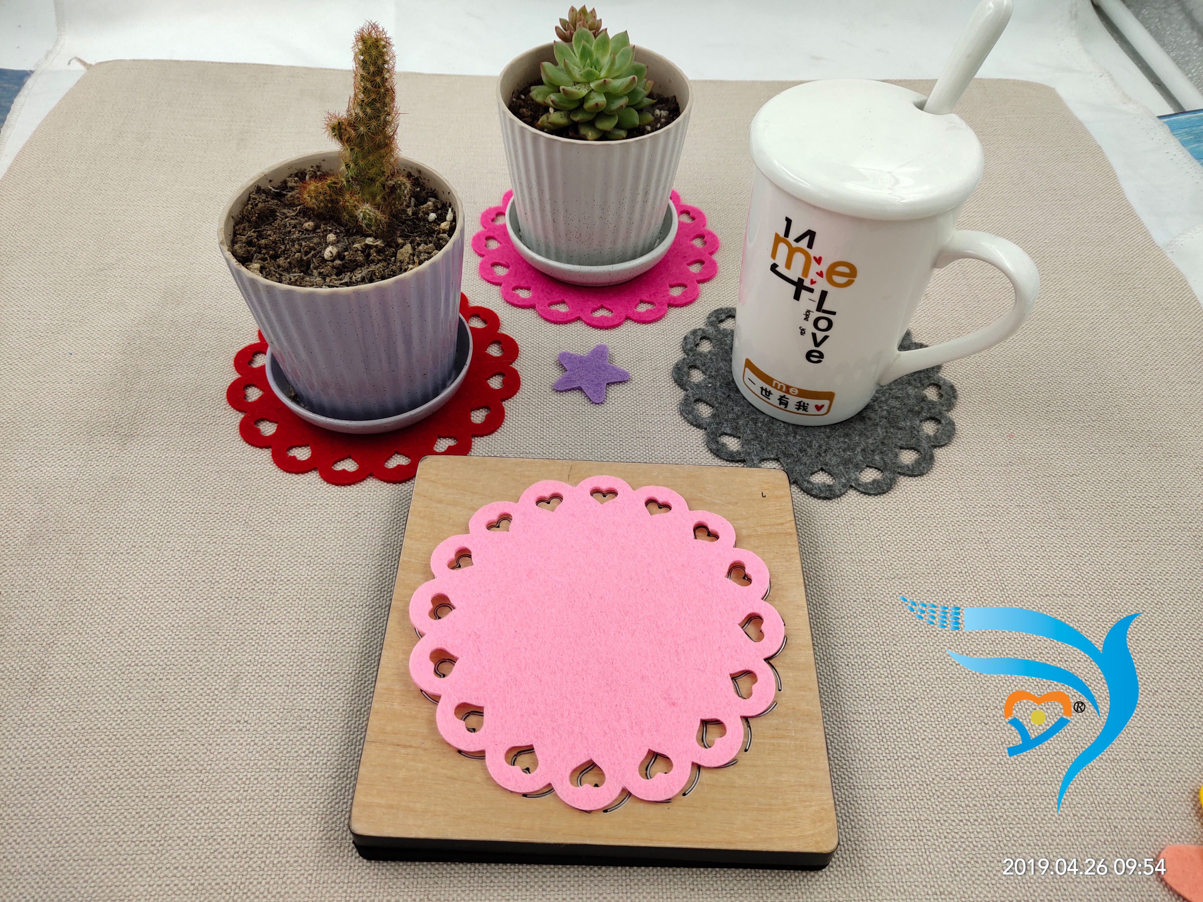 Tableware pad new wooden mould cutting dies for scrapbooking Thickness-15.8mm
