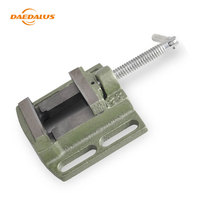 Daedalus Mini Bench Vise Replacement Parts Flat Pliers 2.5Inch Iron Clamp Diy Hand Tool Accessories For Drill Press Clamp